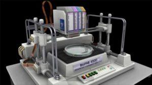 Imagen de una bioimpresora 3D, concretamente del modelo BioFAB 4500 de la empresa BioFab